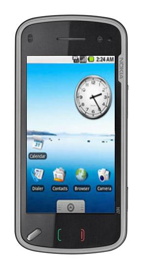 Nokia N97 Mini Android 2.0!