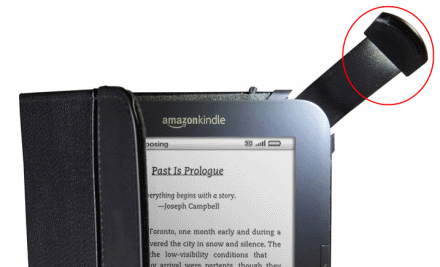 UK Kindle Cover With Light