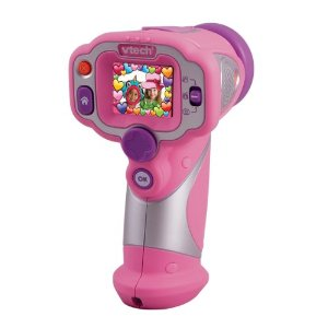 Vtech Kidizoom Video Camera for Girls Pink Colour
